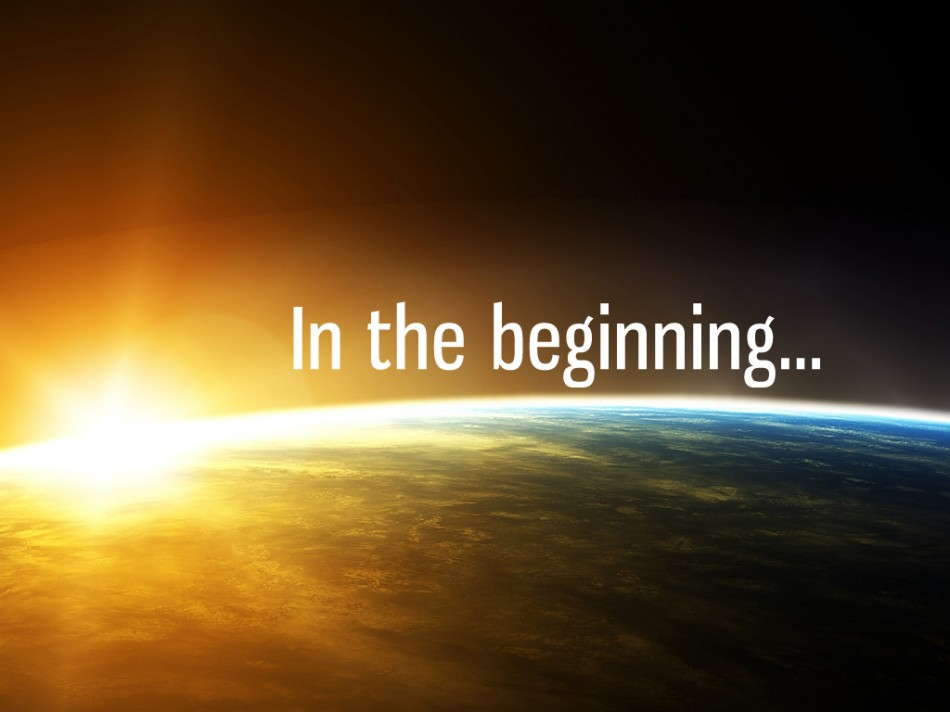 in-beginning