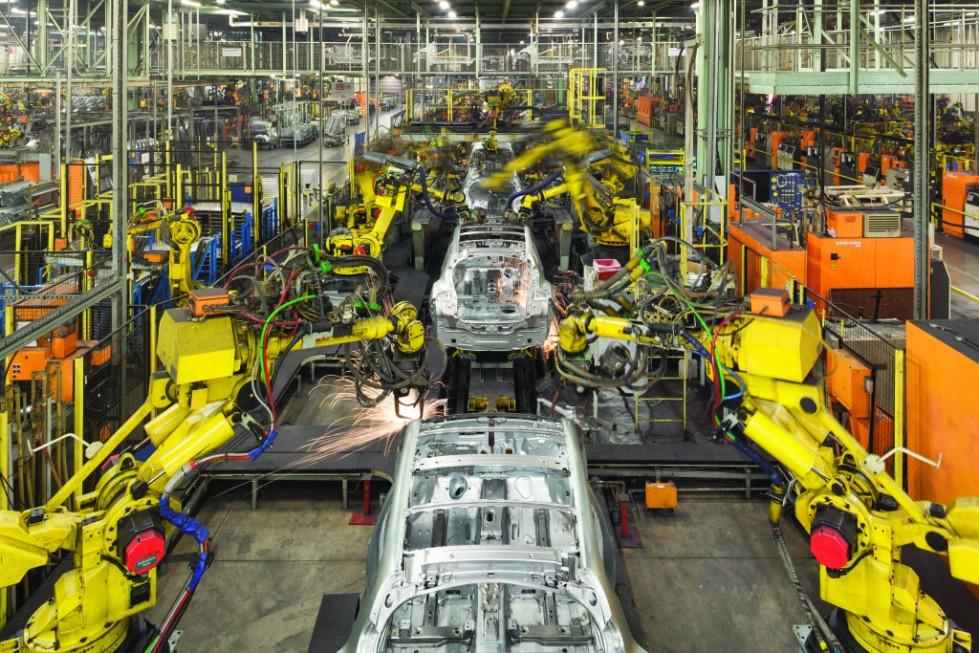 Production Line, Nissan Motors UK, Sunderland